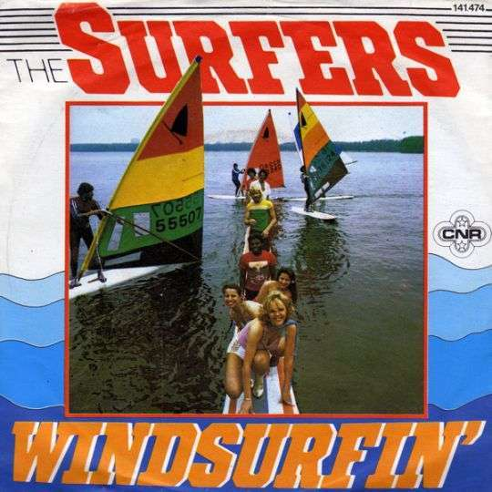 Coverafbeelding The Surfers - Windsurfin'