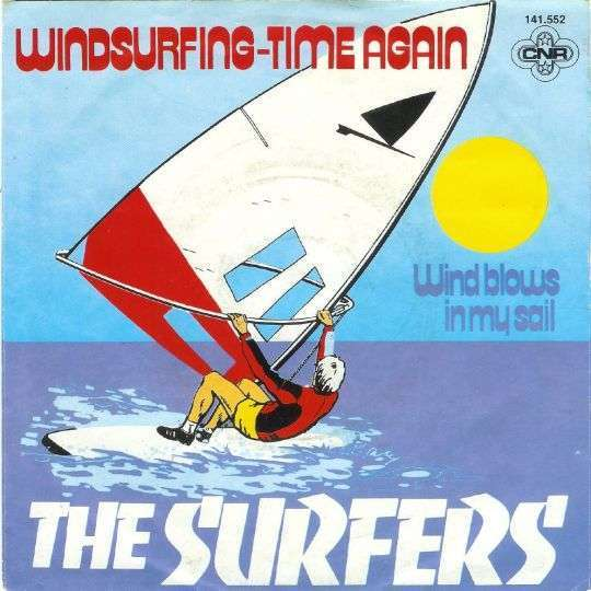 Coverafbeelding Windsurfing-time Again - The Surfers