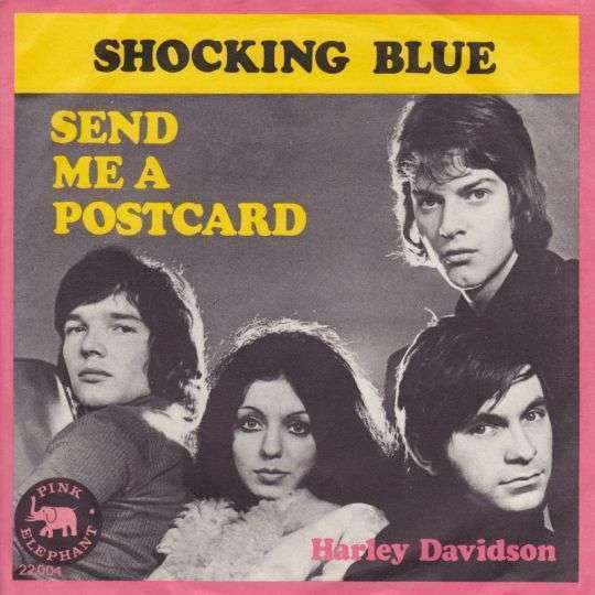Coverafbeelding Send Me A Postcard - Shocking Blue