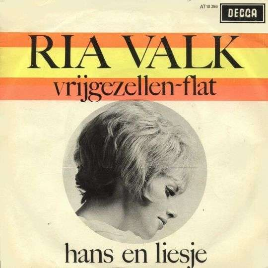 Coverafbeelding Vrijgezellen-flat - Ria Valk