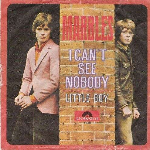 Coverafbeelding I Can't See Nobody - Marbles