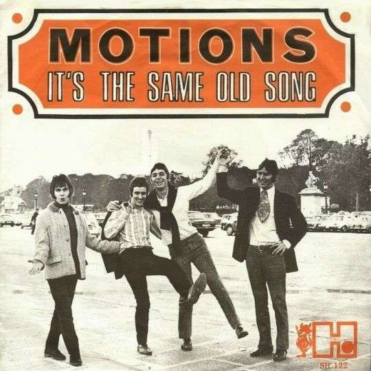 Coverafbeelding It's The Same Old Song ((1966)) / It's The Same Old Song/ Someday Child ((1966)) / It's The Same Old Song ((1971)) - The Four Tops / Motions / The Four Tops