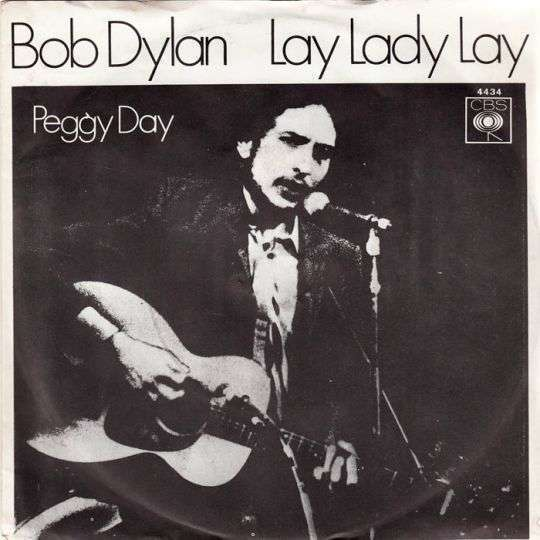 Coverafbeelding Lay Lady Lay - Bob Dylan