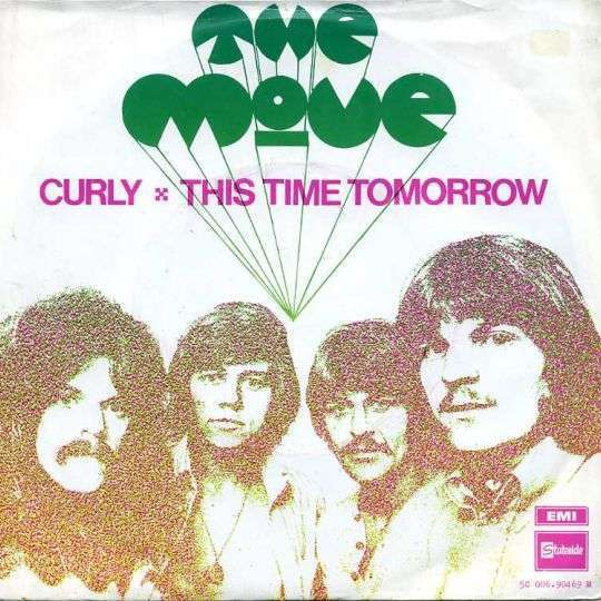 Coverafbeelding Curly - The Move