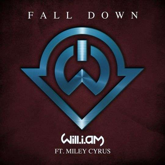 Coverafbeelding Fall Down - Will.i.am Ft. Miley Cyrus
