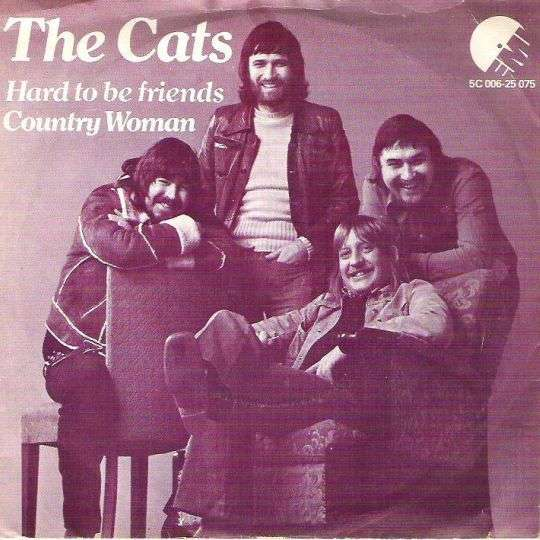 Coverafbeelding Hard To Be Friends - The Cats