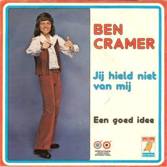 Coverafbeelding Jij Hield Niet Van Mij - Ben Cramer
