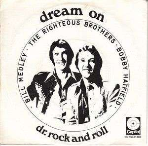Coverafbeelding Dream On - The Righteous Brothers