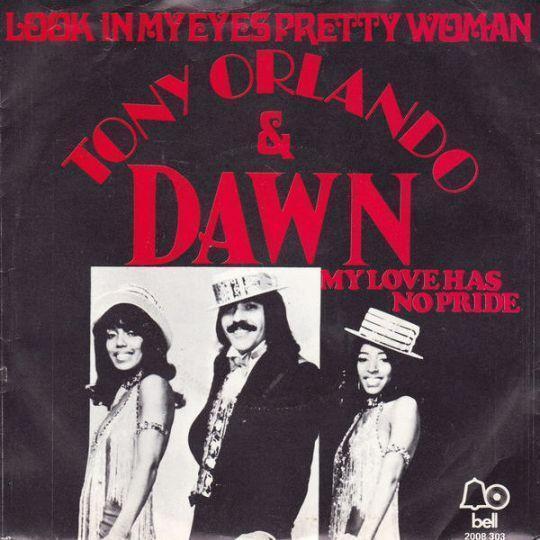 Coverafbeelding Look In My Eyes Pretty Woman - Tony Orlando & Dawn