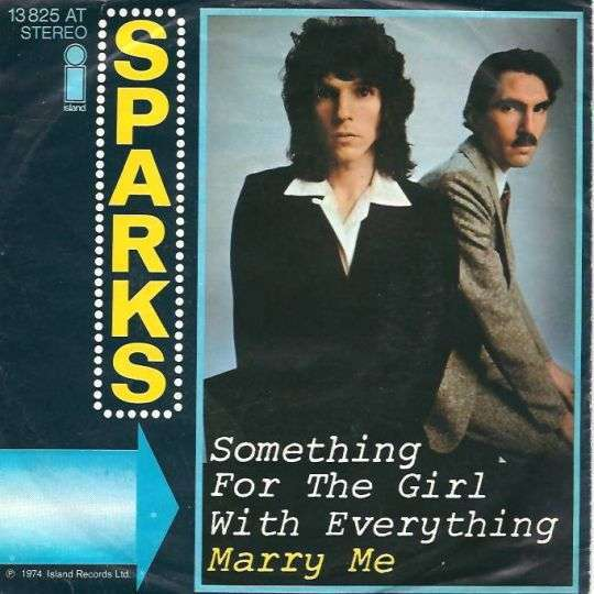 Coverafbeelding Something For The Girl With Everything - Sparks