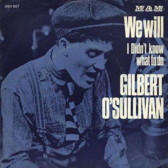 Coverafbeelding Gilbert O'Sullivan - We Will