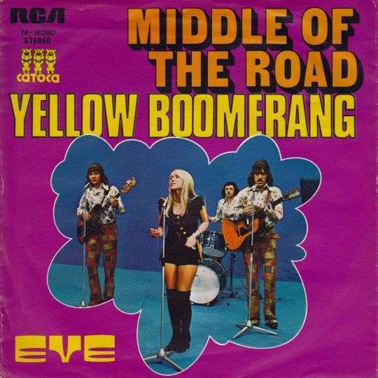 Coverafbeelding Yellow Boomerang - Middle Of The Road