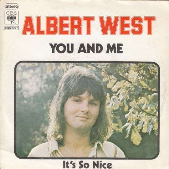 Coverafbeelding Albert West - You And Me