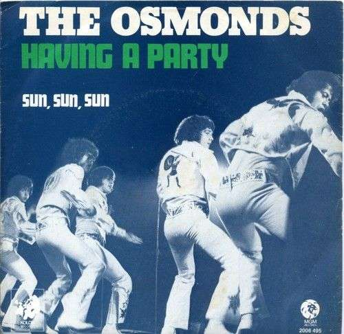 Coverafbeelding Having A Party - The Osmonds