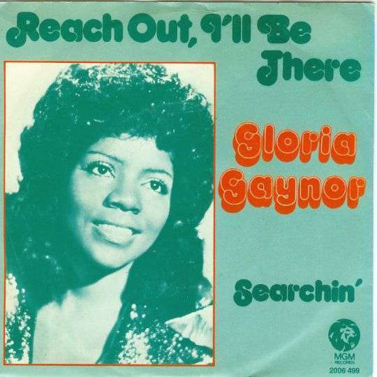 Coverafbeelding Reach Out, I'll Be There - Gloria Gaynor