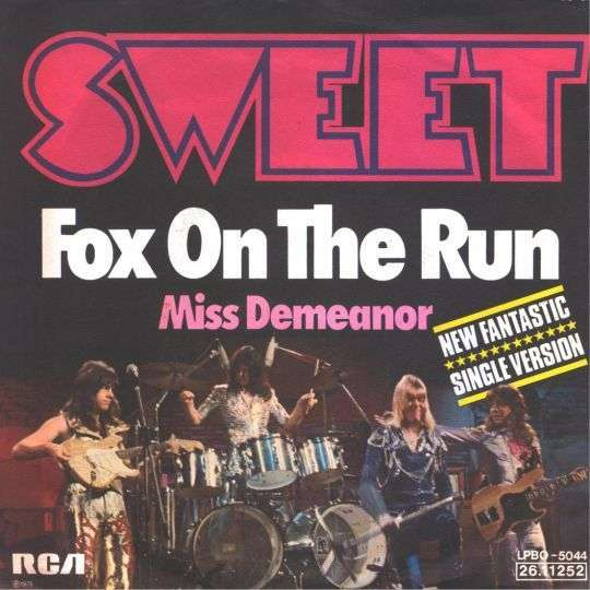 Coverafbeelding Fox On The Run - Sweet