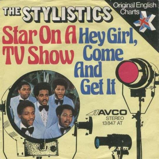 Coverafbeelding Hey Girl, Come And Get It - The Stylistics