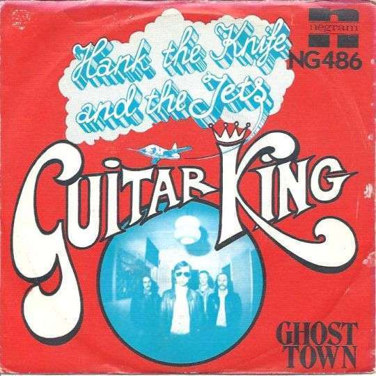 Coverafbeelding Hank The Knife and The Jets - Guitar King