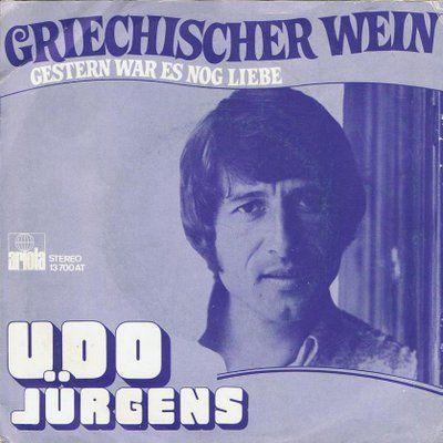 Coverafbeelding Griechischer Wein - Udo Jürgens