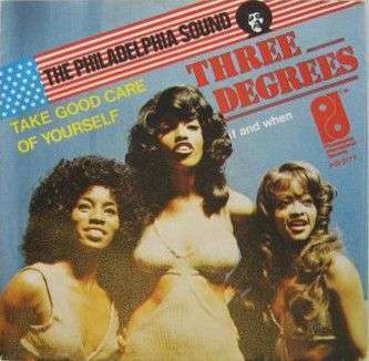 Coverafbeelding Take Good Care Of Yourself - Three Degrees