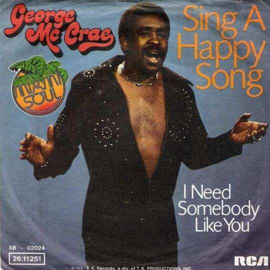 Coverafbeelding Sing A Happy Song - George Mc Crae