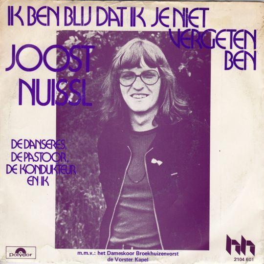 Coverafbeelding Joost Nuissl m.m.v.: Het Dameskoor Broekhuizenvorst & De Vorster Kapel - Ik Ben Blij