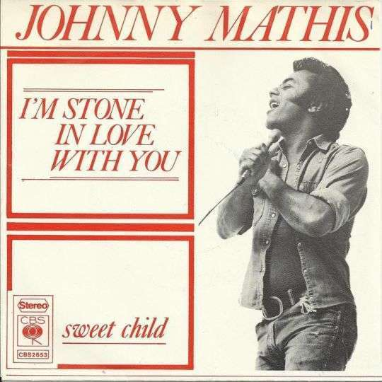 Coverafbeelding I'm Stone In Love With You - Johnny Mathis