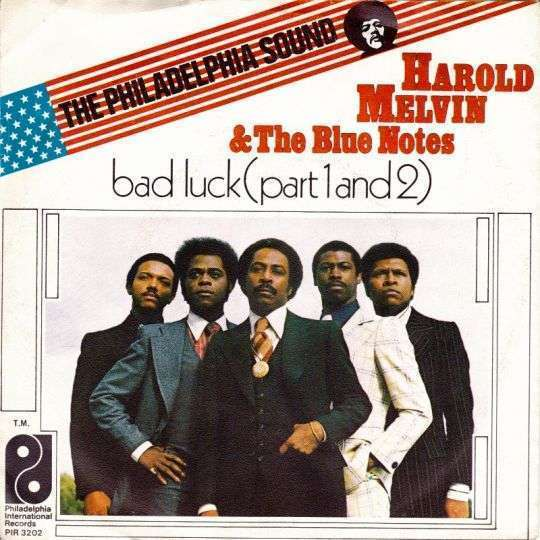 Coverafbeelding Bad Luck - Harold Melvin & The Blue Notes