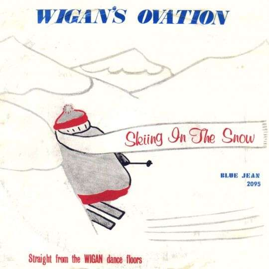 Coverafbeelding Wigan's Ovation - Skiing In The Snow