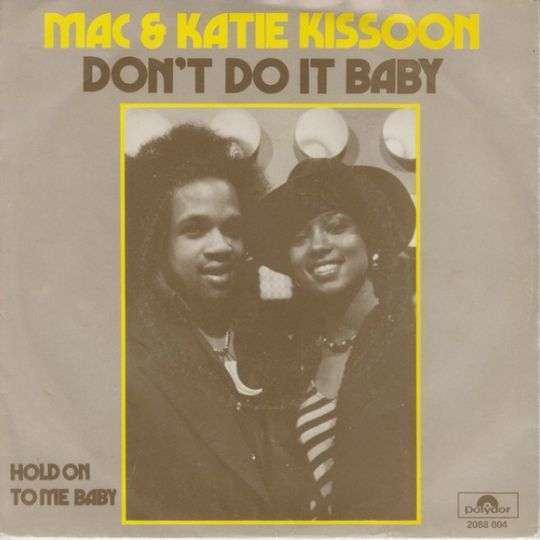 Coverafbeelding Don't Do It Baby - Mac & Katie Kissoon