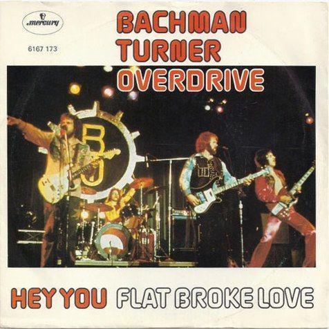 Coverafbeelding Hey You - Bachman Turner Overdrive