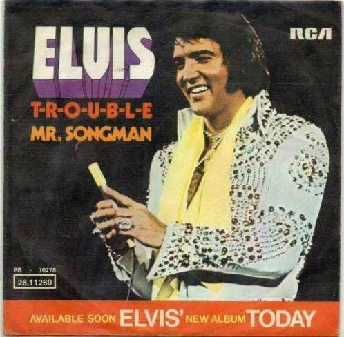 Coverafbeelding T-r-o-u-b-l-e - Elvis