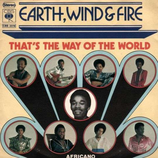 Coverafbeelding That's The Way Of The World - Earth, Wind & Fire