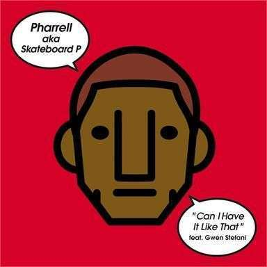 Coverafbeelding Pharrell AKA Skateboard P featuring Gwen Stefani - Can I Have It Like That