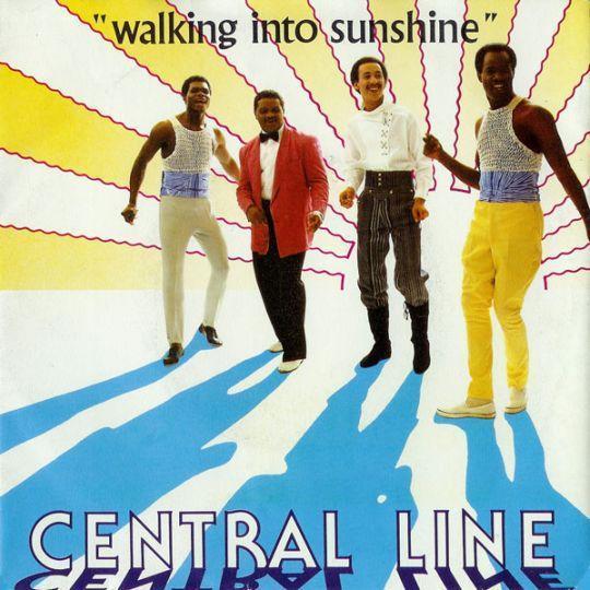Coverafbeelding Central Line - Walking Into Sunshine