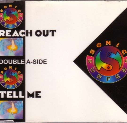 Coverafbeelding Reach Out/ Tell Me - Sonic Surfers