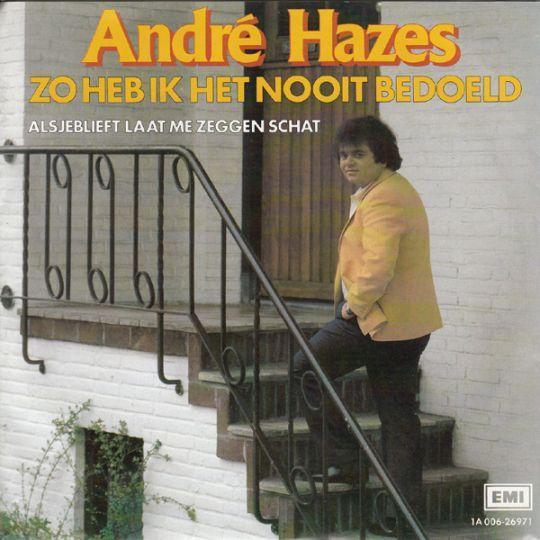 Coverafbeelding Zo Heb Ik Het Nooit Bedoeld - André Hazes
