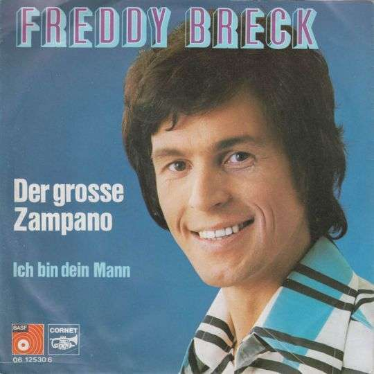 Coverafbeelding Der Gro�e Zampano - Freddy Breck