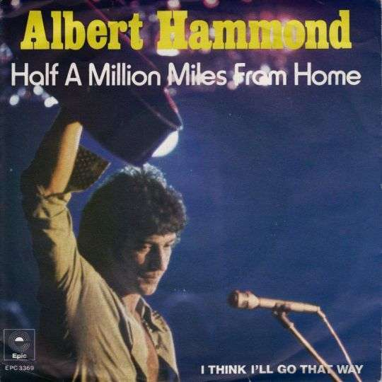 Coverafbeelding Half A Million Miles From Home - Albert Hammond