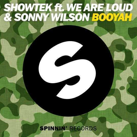 Coverafbeelding Booyah - Showtek Ft. We Are Loud & Sonny Wilson