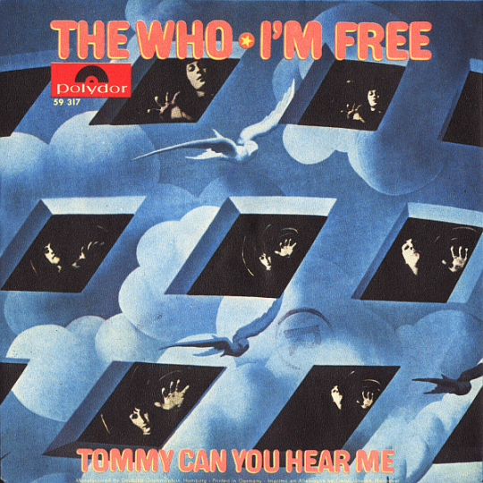 Coverafbeelding I'm Free - The Who