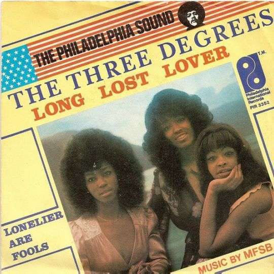 Coverafbeelding Long Lost Lover - The Three Degrees