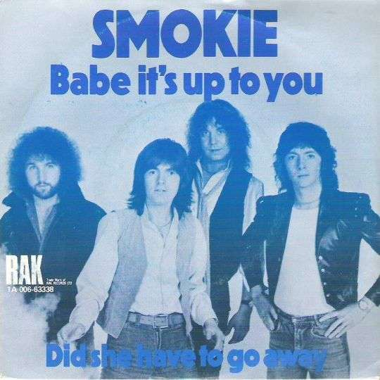 Coverafbeelding Babe It's Up To You - Smokie