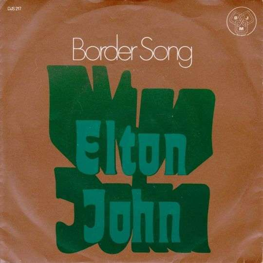 Coverafbeelding Border Song - Elton John