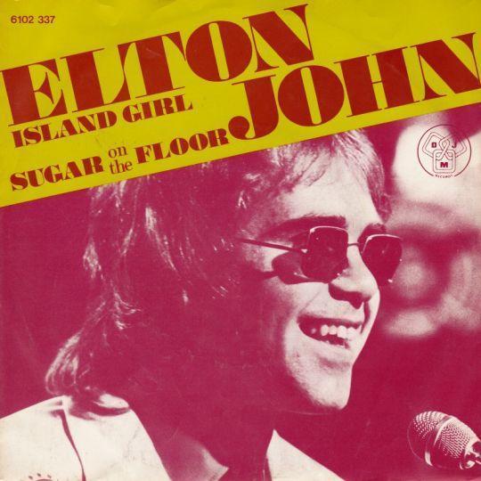 Coverafbeelding Island Girl - Elton John