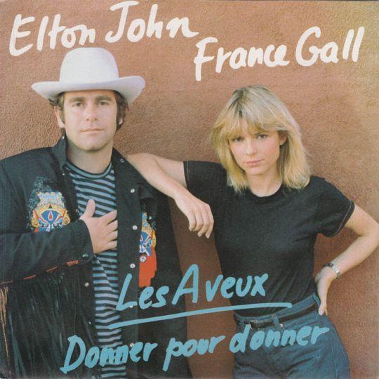 Coverafbeelding Les Aveux - Elton John & France Gall