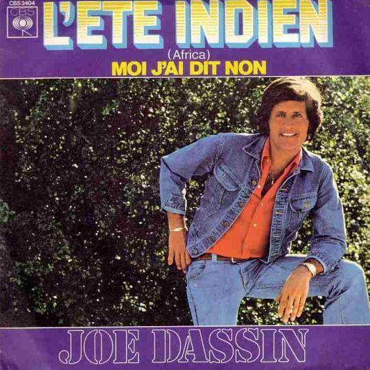 Coverafbeelding L'ete Indien (Africa) - Joe Dassin