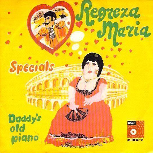 Coverafbeelding Regreza Maria - Specials ((Nld))