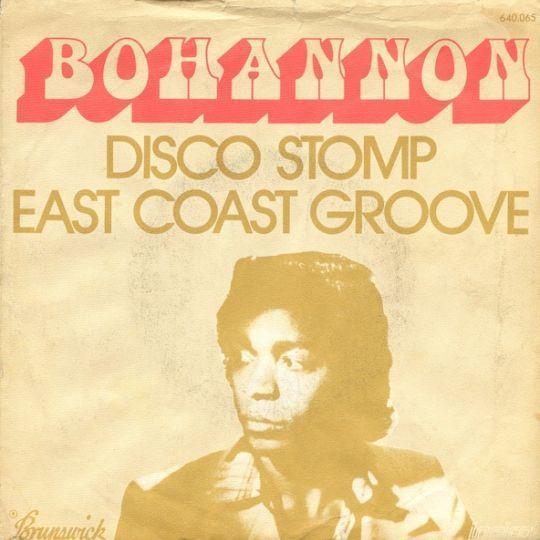 Coverafbeelding Disco Stomp - Bohannon