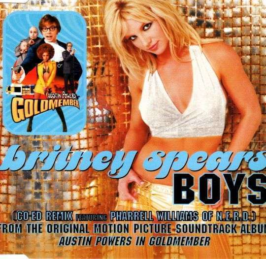 Coverafbeelding Boys (Co-Ed Remix) - Britney Spears Featuring Pharrell Williams Of N.e.r.d.